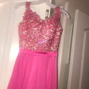 beautiful pageant/ prom dress